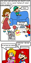 cake in the oven 6 by Nintendrawer