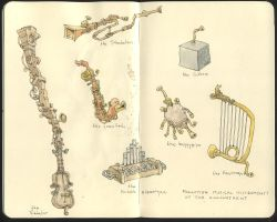 Musical Instruments of the by MattiasA