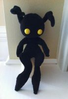 Shadow Heartless Plush by TheRuffledRaven