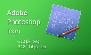 Adobe Photoshop Icon by der-tmo