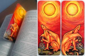 Azdaracylius Bookmark by Natoli