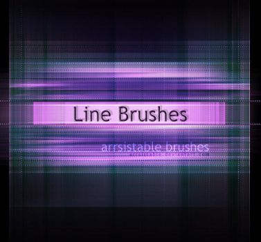 Line Brushes by ArrsistableStock