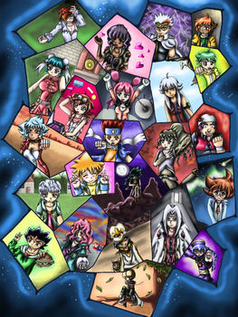 Metal Fight Beyblade Poster (Remake) by WhiteMageOfTermina