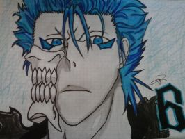 Grimmjow Jeagerjaquez Another Art!! by Ichir17