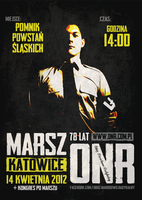 ONR anniversary march in Katowice poster by N4020