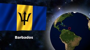 Flag Wallpaper - Barbados by darellnonis