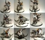Space Wolves Thunderwolves Unit1  Members3of5 by TheBl4ckCat