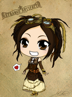 Chibi Steampunk Series - Strange Artifact by Mibu-no-ookami