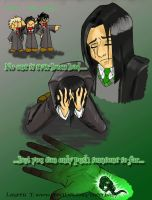 Made not Born - severus snape by lycanlauren