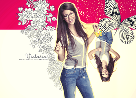 Victoria Justice Graphic1 by softmist93