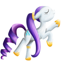 Rarity Dancing by Eumy