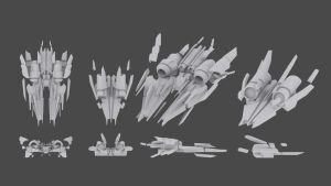 2001. Forged Ships by chillsters
