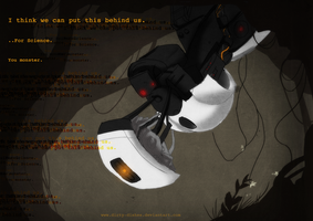 GLaDOS by Dirty-Dishes