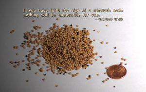 "Matthew 17:20 ""Mustard Seed"" by touch-the-flame"
