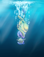 Drownin' Defeat Speedpaint by Tattletail