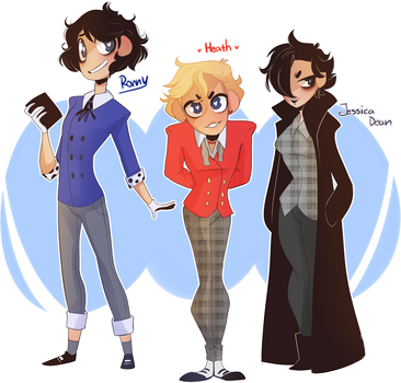 GENDERBEND - Heathers by Elemental-FA