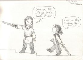 Playtime For Fili and Kili by Hasami-hime