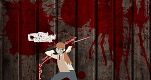 Me as Leatherface by Barrel2s1cool