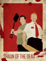 shaun of teh dead by asylumdaz