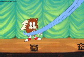 Sonic the Hedgehog Production Cel by AnimationValley