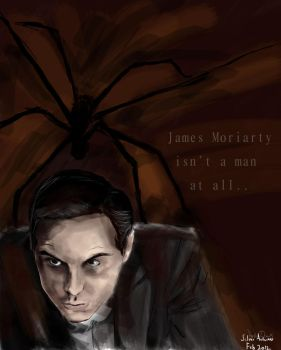 The Spider - James Moriarty by silver-autumn
