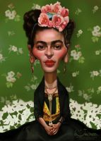 Frida Khalo by creaturedesign
