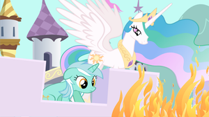 Lyra Ruins the Canterlot Garden... by GentlemanPanda