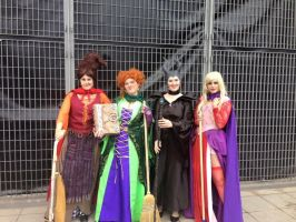 Maleficent Meets The Sanderson Sisters by unipal390