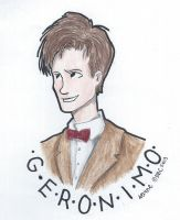 Eleventh Doctor by SKPartist