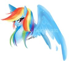 Rainbow Dash - Loyalty by Soul-Soar