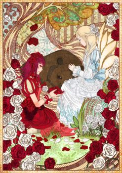 Snow-White and Rose-Red by Nacrym