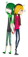 : COLLAB PART : Tristian and Mari : by sonxfanchara