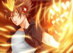 KHR 390 - Tsuna by DesignerRenan