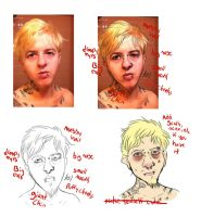 self portraits by boarbarian