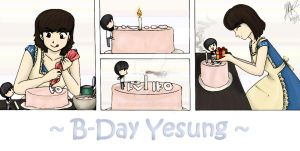 B-Day Yesung by HannaS2
