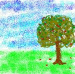 Almost a tree by Heliossa