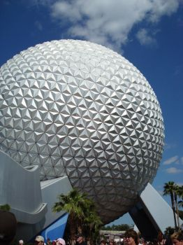 Spaceship Earth In Daylight by uaigneas-nicolin