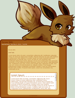 Eevee Skin by JAYWlNG