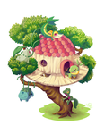The tree house by AndrePaz