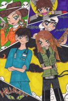Gattis Gang For Halloween by rumiko18