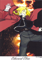 Edward Elric Drawing 1 - 2005 by andys184