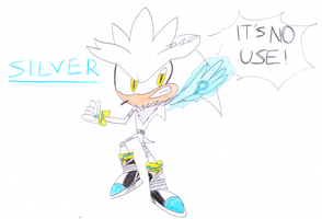 Silver in Sonic Boom version by sonic4ever760