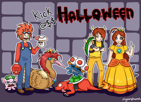 Kick@$$ halloween contest by Amphany