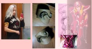 Thesthis Saint Seiya Armor Progress by Lady-Vudu-doll