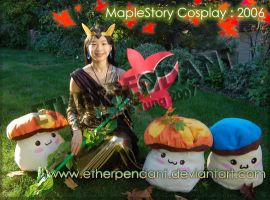 MapleStory Cosplay 2006 by Etherpendant