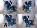 mlp OC Hair Trigger plush by Little-Broy-Peep