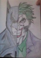 Batman/Joker by chile3456