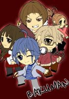 Chibi: Bakuman Group by animereviewguy