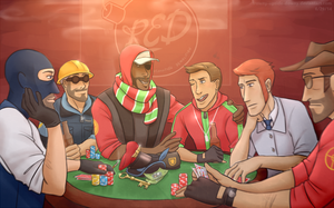 Poker Night by vampiriism