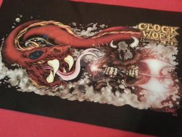 Clockwork Playmat by MonsterInk